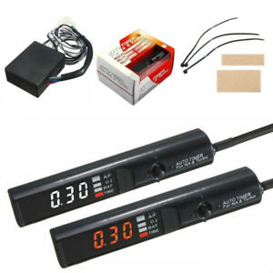 Universal Apexi Auto Turbo Timer For Turbo Black Pen Control Led Unit Brand