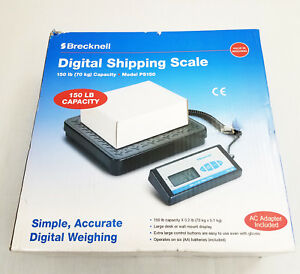 Brecknell Ps150 Digital Bench Scale 150 Lb X 2 Lb Shipping Warehouse