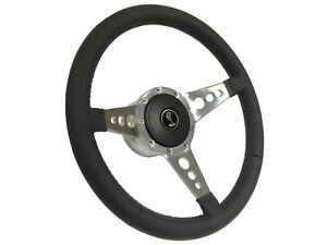 1979 1982 Ford Mustang Cobra S9 Leather Steering Wheel Kit 3 spoke Holes