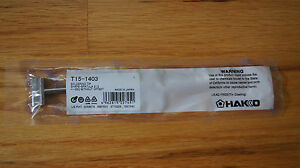 Hakko Soldering Iron Tips Original New T15 1403
