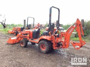 2016 Kubota Bx25dlb Mini Backhoe Under 10 Hrs 4x4