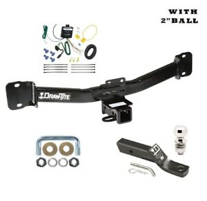 Class 3 Trailer Hitch Tow Package W 2 Ball For 2004 2010 Bmw X 3 87403