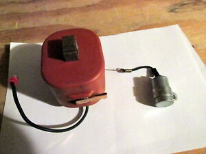 Allis Chalmers Wd45 Tractor Coil And Condenser 6v 6 Volt Replacement Parts