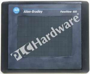 Allen Bradley 2711 t6c8l1 b Panelview 600 Color 6 in Touch Dh rs 232 Scratches