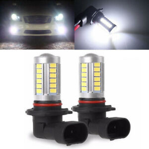 2x H11 5630 Smd 30w 33 Led Fog Light Headlight Headlamp Driving Bulb 6000k White