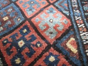 Antique Jaf Kurd Bagface Tribal Oriental Rug