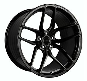 19 20 Stance Sf03 Gloss Black Concave Wheels Fits C6 C7 Corvette Base Z51