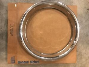 1994 2002 Chevy Ck Pickup 16 Trim Rings Nos Gm 15661737 Discontinued From Gm