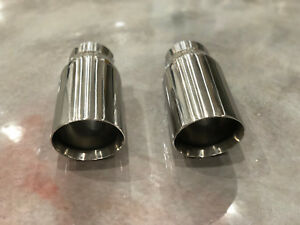 Stainless 3 0 Inlet 4 0 Outlet Exhuast Tips 4 0 3 0 4 00 3 00 3in 4in Pair