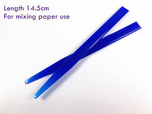 Dental Glass Lonomer Cement Mixing Tip Spatula Composite Paper Plastic