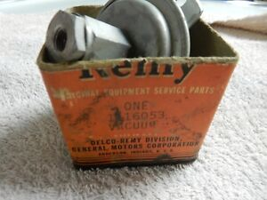 Nos 1942 1946 1947 48 1949 50 Oldsmobile Six Cylinder Vacuum Advance Delco Remy
