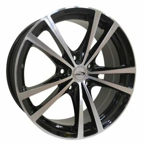 4 New 16x7 Bwt Drive Black machined Wheel rim 5x114 3 5 114 3 5x4 5 16 7