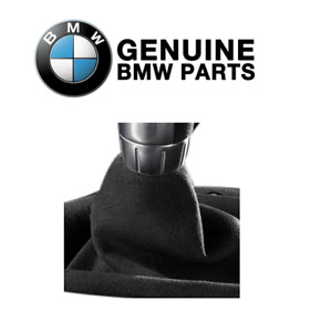 For Bmw E90 E91 E92 E93 Performance Alcantara Shift Boot Genuine 25110435847