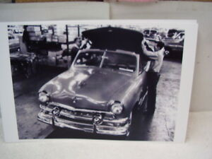1951 Ford Convertible Factory Top Fitting 11 X 17 Photo Picture