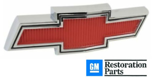67 68 Chevy C10 k10 Truck Suburban Red Chrome Grill Bow tie Emblem