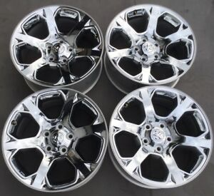 2013 2014 2015 2016 2017 Dodge Ram 1500 Truck Alloy Rims Wheels 20 Used 2454