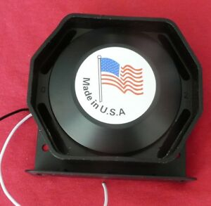 Federal Signal Ts200 n 200 Watt Speaker new In A Bruised Box See Photos