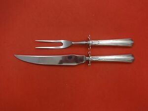 American Directoire By Lunt Sterling Silver Steak Carving Set 2pc Hhws