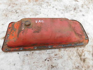Case Vac Oil Pan Nice One Antique Tractor