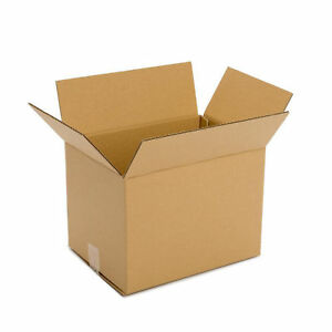 New Cardboard Delivery Box 25 Pack 14x10x6 For Packing Shipping Mailing Storage