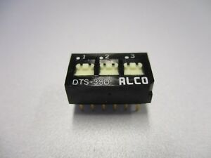 Dip Switch 3 Position Pc Mount Dip Switch nos New Old Stock qty 5 Ea d24