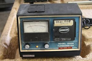 Hach Model 2100a Turbidimeter c