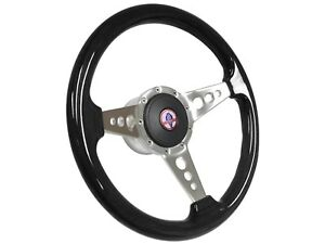 1968 1978 Ford Mustang Cobra S9 Espresso Steering Wheel Kit 3 Spoke holes