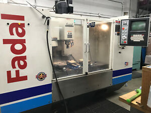 1992 Re manufactured Fadal Vmc 4020 High Torque Cnc Mill 40 x20 Made In Usa