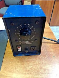 Staco Powerstate Moorfeed Variac Transformer 10 Amp 120v Vibratory Control