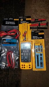 Fluke 724 Temperature Calibration Multimeter gently Used With Extras