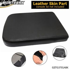 Synthetic Leather Console Lid Armrest Center Cover For 2002 2008 Dodge Ram 2500