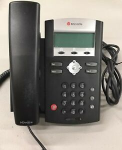 Polycom Soundpoint Ip 335 Hd With Power Supply perfect Condition No Box