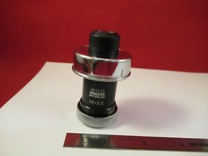 Wild Heerbrugg Swiss Rare Mikroskop Condenser Microscope Part Optics