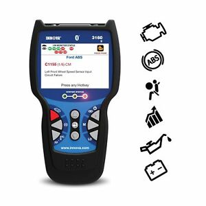 Innova 3160g Code Reader Scan Tool With 3 5 Display Abs Srs Bluetooth