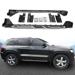 Side Step Fit For Jeep Grand Cherokee 2011 2018 Running Board Nerf Bar Us Stock