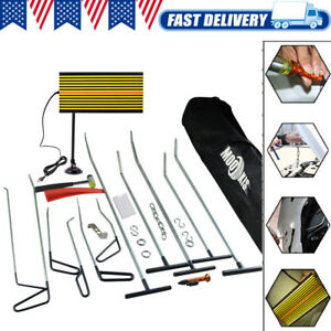 Hammer Us Puller Pdr Tools led Board Paintless Dent Repair Removal Rods Kit Hail