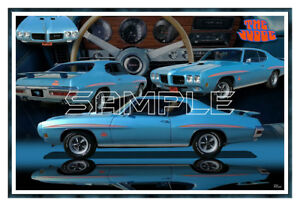 1970 Ram Air Iv Gto Judge Poster Print