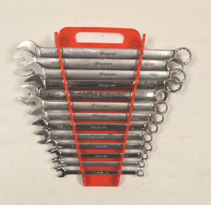 Snap On 13pc 12pt Sae Combination Wrench Set 5 16 1 Oex