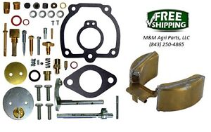 Carburetor Kit Float Ih Farmall Super H Super Hv Super W4 358065r91 358554r91