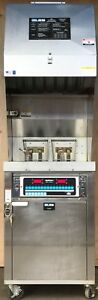 Very Clean Used Giles Wog mp vh 70lb Fryer W Auto Filter Ventless Hood System