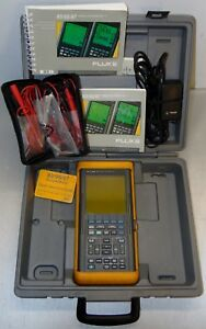 Fluke 97 50mhz Scopemeter With Case And Extras