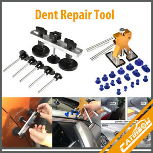 Car Pdr Tools Set Paintless Dent Repair Dent Puller Bridge Auto Dent Removal Kit