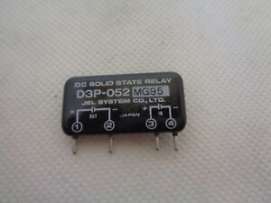 New Jel System D3p 052 Dc Solid State Relay