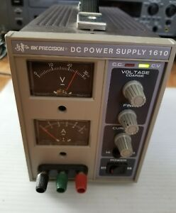 Bk Precision 1610 Dc Power Supply 0 30v 0 1a