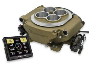 550 517 Holley Sniper Efi 1250 Hp Super Sniper Fuel Injection System Gold