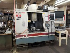 1996 Tree Vmc 760cnc 4 Axix Milling Center