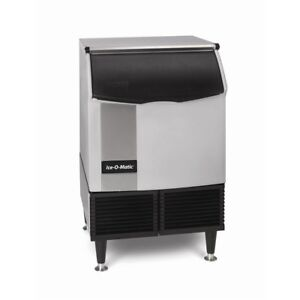 Ice o matic 232 Lb Half Size Cube Undercounter Water Cooled Ice Machine