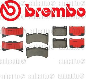 Brembo Front Rear Ceramic Brake Pads For Lexus Is F 2008 2014