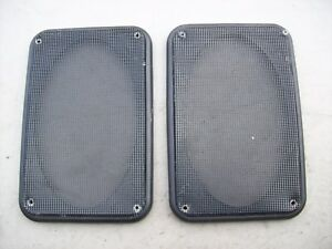 Porsche 944 Turbo S S2 Black Door Panel Speaker Grill Cover Plate 944 555 149 00
