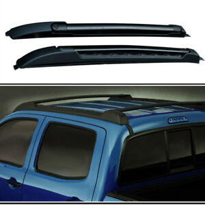 Roof Rack Rail Fit For Toyota Tacoma 2005 2019 Luggage Black Baggage Luggage